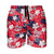 "Washington Nationals MLB Mens Hibiscus Slim Fit 5.5"" Swimming Trunks"