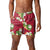 "Arkansas Razorbacks NCAA Mens Floral Slim Fit 5.5"" Swimming Suit Trunks"