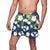 "BYU Cougars NCAA Mens Floral Slim Fit 5.5"" Swimming Suit Trunks"