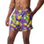 "LSU Tigers NCAA Mens Floral Slim Fit 5.5"" Swimming Suit Trunks"
