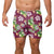 "Texas A&M Aggies NCAA Mens Floral Slim Fit 5.5"" Swimming Suit Trunks"