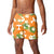 "Tennessee Volunteers NCAA Mens Floral Slim Fit 5.5"" Swimming Suit Trunks"