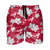 "Alabama Crimson Tide NCAA Mens Hibiscus Slim Fit 5.5"" Swimming Trunks"