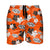 "Oklahoma State Cowboys NCAA Mens Hibiscus Slim Fit 5.5"" Swimming Trunks (PREORDER - SHIPS LATE MARCH)"