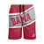 Alabama Crimson Tide NCAA Mens Big Wordmark Swimming Trunks