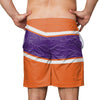 Clemson Tigers NCAA Mens Big Wordmark Swimming Trunks