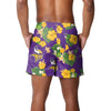 "Minnesota Vikings NFL Mens Floral Slim Fit 5.5"" Swimming Suit Trunks"