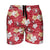 "San Francisco 49ers NFL Mens Hibiscus Slim Fit 5.5"" Swimming Trunks"
