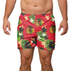 "Chicago Blackhawks NHL Mens Floral Slim Fit 5.5"" Swimming Suit Trunks"
