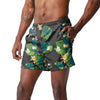 "San Jose Sharks NHL Mens Floral Slim Fit 5.5"" Swimming Suit Trunks"