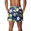 "Toronto Maple Leafs NHL Mens Floral Slim Fit 5.5"" Swimming Suit Trunks (PREORDER - SHIPS MID MARCH)"