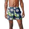 "Winnipeg Jets NHL Mens Floral Slim Fit 5.5"" Swimming Suit Trunks"