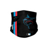Miami Marlins MLB On-Field Black UV Gaiter Scarf