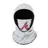 Atlanta Braves MLB Heather Grey Big Logo Hooded Gaiter