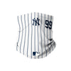 New York Yankees MLB Aaron Judge On-Field Gameday Pinstripe Stitched Gaiter Scarf