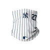 New York Yankees MLB Giancarlo Stanton On-Field Gameday Pinstripe Stitched Gaiter Scarf