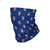 New York Mets MLB Mini Print Logo Gaiter Scarf
