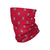 Washington Nationals MLB Mini Print Logo Gaiter Scarf