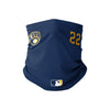 Milwaukee Brewers MLB Christian Yelich On-Field Gameday Gaiter Scarf