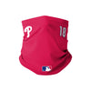 Philadelphia Phillies MLB Didi Gregorius On-Field Gameday Gaiter Scarf