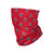 Washington Wizards NBA Mini Print Logo Gaiter Scarf