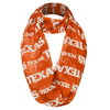 Texas Longhorns NCAA Team Logo Infinity Scarf