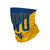 West Virginia Mountaineers NCAA Big Logo Gaiter Scarf (PREORDER - SHIPS MID/LATE JUNE)