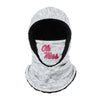Ole Miss Rebels NCAA Heather Grey Big Logo Hooded Gaiter
