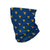 West Virginia Mountaineers NCAA Mini Print Logo Gaiter Scarf (PREORDER - SHIPS MID/LATE JUNE)