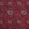 South Carolina Gamecocks NCAA Script Infinity Scarf