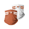 Texas Longhorns NCAA Stitched 2 Pack Gaiter Scarf