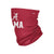 Alabama Crimson Tide NCAA Team Logo Stitched Gaiter Scarf