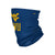 West Virginia Mountaineers NCAA Team Logo Stitched Gaiter Scarf