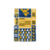 West Virginia Mountaineers NCAA Busy Block Gaiter Scarf