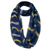 Los Angeles Chargers  NFL Team Logo Infinity Scarf