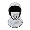 Las Vegas Raiders NFL Heather Grey Big Logo Hooded Gaiter (PREORDER - SHIPS BY 12/10/2020)