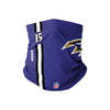 Baltimore Ravens NFL Marquise Brown On-Field Sideline Logo Gaiter Scarf