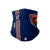 Chicago Bears NFL Allen Robinson On-Field Sideline Logo Gaiter Scarf