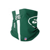 New York Jets NFL Le'Veon Bell On-Field Sideline Logo Gaiter Scarf