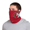 San Francisco 49ers NFL George Kittle On-Field Sideline Logo Gaiter Scarf