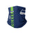 Seattle Seahawks NFL On-Field Sideline Logo Gaiter Scarf