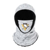 Pittsburgh Penguins NHL Heather Grey Big Logo Hooded Gaiter