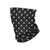 Repeat Skull Brushed Polyester Gaiter Scarf