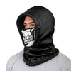 Skull Face Hooded Gaiter
