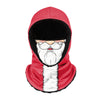Santa Face Hooded Gaiter Scarf