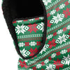 Ugly Christmas Sweater Hooded Gaiter Scarf