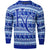 Kansas City Royals MLB Aztec Print Ugly Crew Neck Sweater