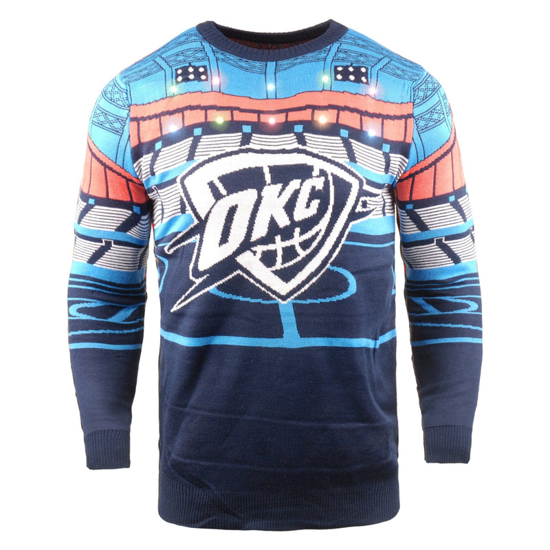 quality design 60aac 60d48 Oklahoma City Thunder NBA Light Up Bluetooth Sweater