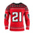 Atlanta Falcons NFL Deion Sanders Retired Player Sweater