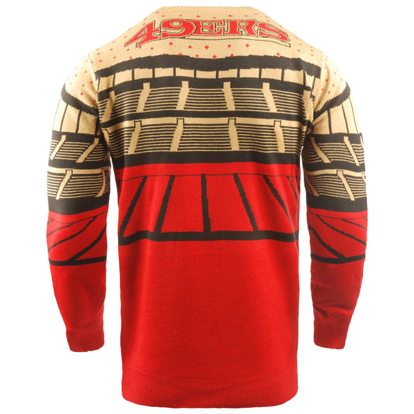 San Francisco 49ers Nfl Light Up Bluetooth Sweater